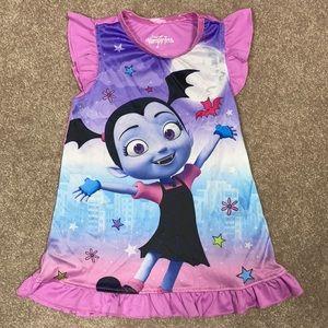Vampirina Disney 2t ruffle gown